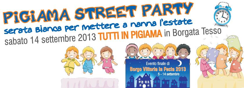 pigiama street party